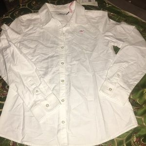 Vineyard vines kids button up
